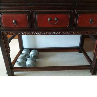 Must go!!!Antique Chinese console