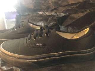 VANS - brand new all black vans (Men's US 5 / Women's US 6.5)
