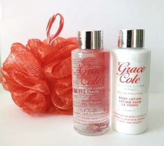 Grace Cole Frosted Cherry & Vanilla Beautiful Cleansing Set