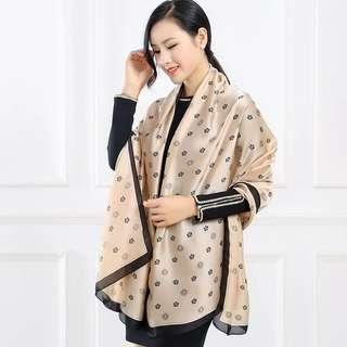 100% Pure Silk Scarfs For Ladies