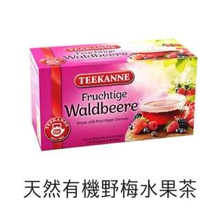 [德國] Teekanne 天然有機 野梅茶 20包/盒