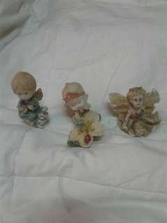 Ceramic figurine angel