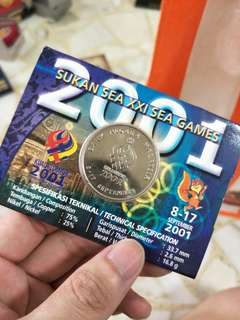 2001 Sea Games Coin