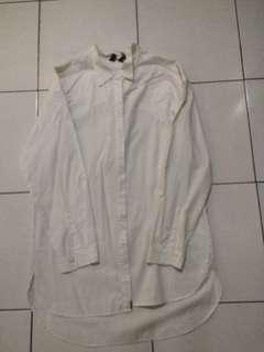 Mango Basic oversized shirt
