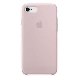 iPhone 7/8 Silicon case | Pink Sand