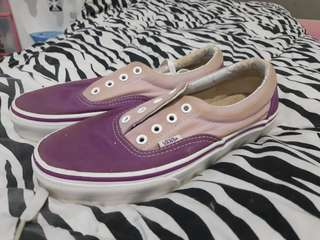 [PRELOVED] VANS Authentic Pink Purple UK 6