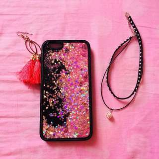 Multi protective Glitter Iphone 6plus Case 🌹