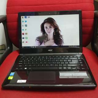 Acer i3 4th generation 14 inches 500gb HD good for study