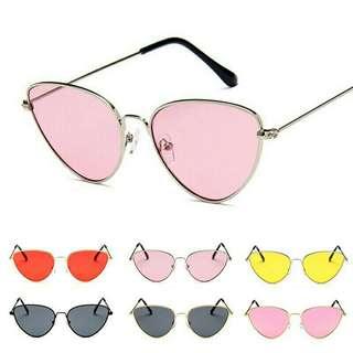 Kacamata fashion bentuk mata kucing #mausupreme
