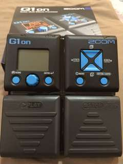 Guitar effects - g1on multi effects processor