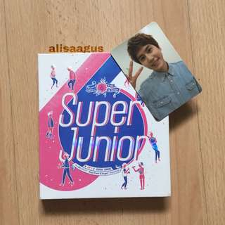 SUPER JUNIOR SPY ALBUM