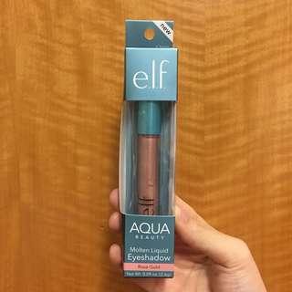 Elf Aqua Molten Liquid Eyeshadow Rosegold