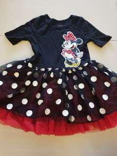 Disney store minnie mouse dress