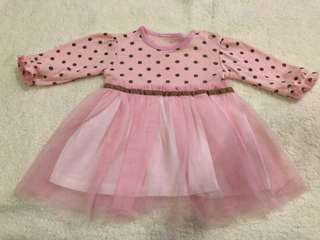 PreLoved - Tutu Longsleeves Dress 1-2years