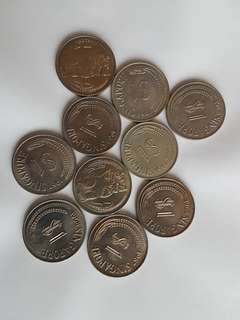 Old Coins per piece at $20