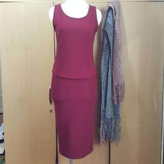 #mausupreme FOREVER 21 Dress ( atasan & bawahan)