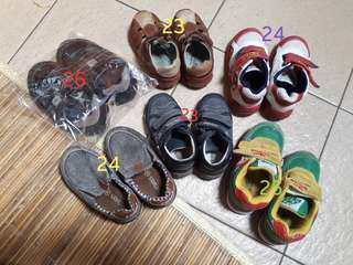 Toddler Shoes Size 23, 24 and 25 Branded, Original and Good Condition