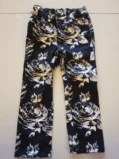 Babygap floral jeans