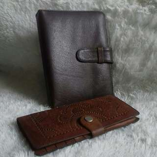 GENUINE LEATHER WALET & FOLDER