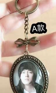🚚 蘇志燮 So Ji Sub 時光寶石鑰匙圈