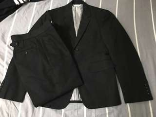 Thom browne size 0 suit jacket pants 西裝