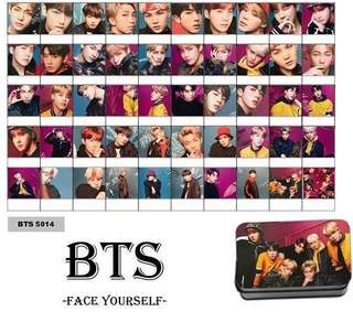 BTS INSPIRE FACE YOURSELF LOMO CARD (50pcs)