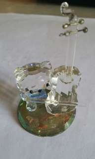 水晶擺設 Hello Kitty