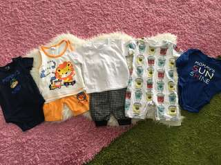 Pre💜 5 set baby clothing size 18-24 months