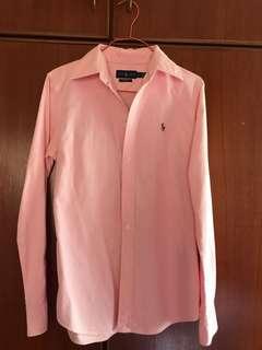 Authentic Ralph Lauren Women's Custom Fit Oxford Shirt