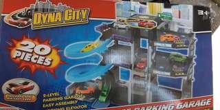 motor city parking garage toy