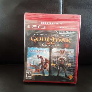 PS3 Game God of War Collection Greatest Hits