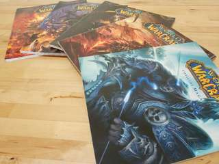 World of Warcraft Official Magazine x 5