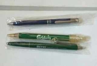 Beck's,   Carlsberg, HP Pen