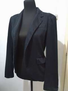 Zara Black Blazer Coat XS