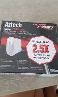 Brand new in boz Aztech repeater