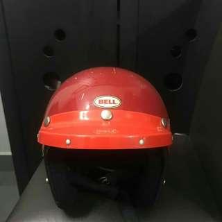 Helmet Bell RT MERAH LINE HITAM SIZE 59