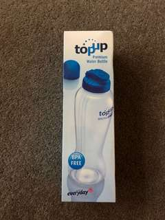 Topup water bottle