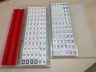 麻將 迷你麻將 小麻將 桌遊 遊戲 輕便 #一百元好物