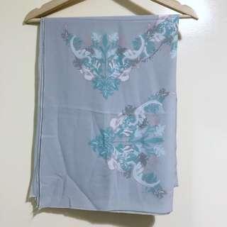 Mimpikita Printed Shawl in Grey
