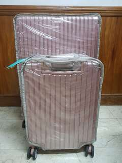 Rosegold luggage