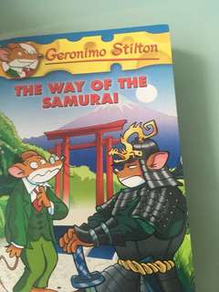 Geronimo Stilton; The way of the samurai