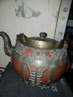 包錫紫砂壺