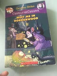 Geronimo Stilton; Meet me in horrorwood