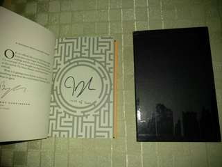 JAMES DASHNER SIGNED, NUMBERED, LIMITED ED. SCORCH TRIALS THE MAZE RUNNER