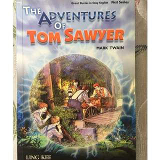 English book The Adventure of Tom Sawyer Mark Twain