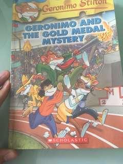 Geronimo Stilton; Geronimo and the gold medal mystery