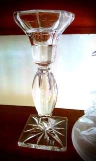 Crystal candle holder set 2pcs