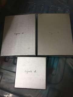 Agnis b.紙盒
