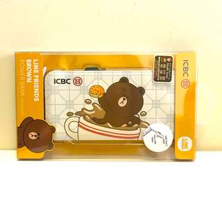 Line Friends Brown 熊大充電器/尿袋/行動電源 Power Bank Charger