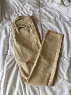 H&M Khaki Jeans